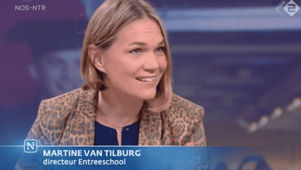 Martine van Tilburg-mediatraining